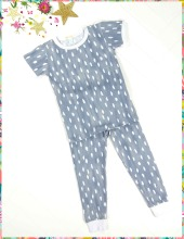 Grey Droplets Pj Set